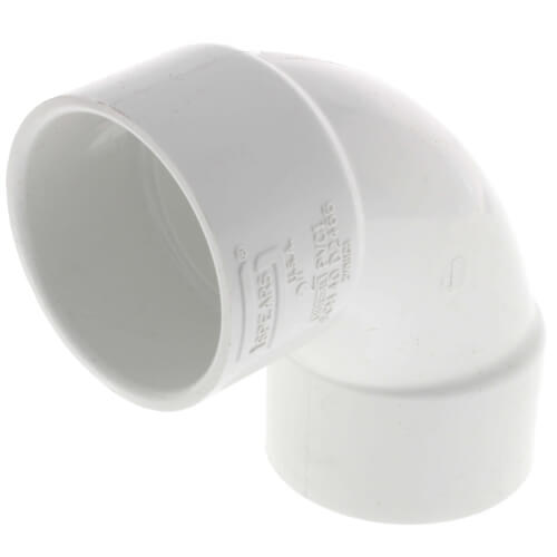"""3"""" PVC Sch. 40 90° Sweep Elbow Product Image"""