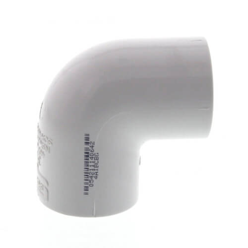 """8"""" PVC Sch. 40 90° Elbow Product Image"""