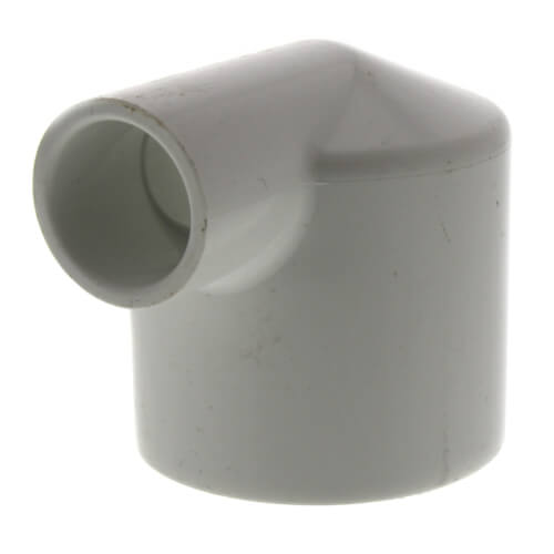 "1-1/2"" x 1/2"" PVC Sch. 40 90° Elbow Product Image"