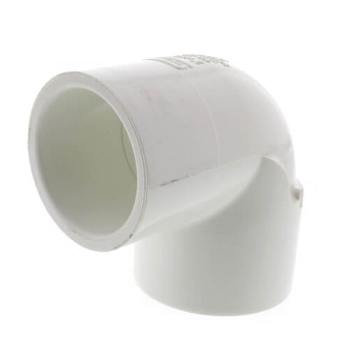 "2"" x 1-1/2"" PVC Sch. 40 Nesting 90° Elbow Product Image"