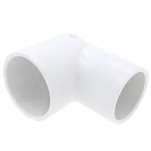 "2-1/2"" x 2"" PVC Sch. 40 Nesting 90° Elbow Product Image"