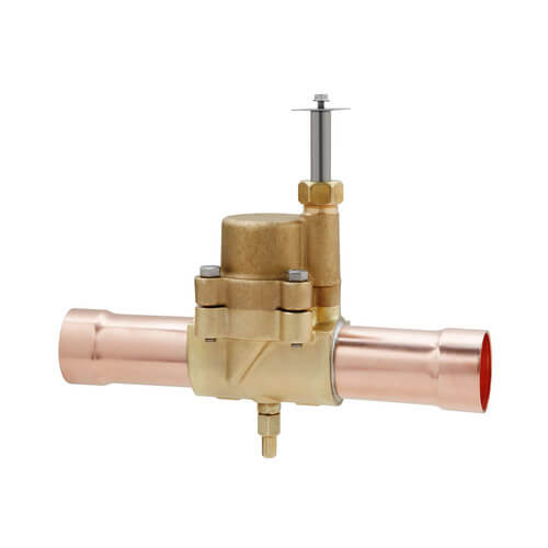 "1-1/8"" ODF ME35S190-HP Normally Closed Solenoid Valve Less Coil Product Image"