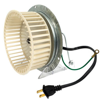 "3.3"" Shaded Pole Motor (1/100 HP, 120V, 1180 RPM) Product Image"