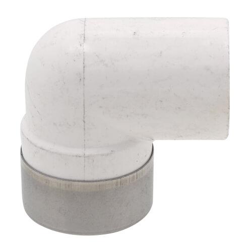 "1/2"" PVC Sch. 40 Spec. Reinforced 90° Elbow (Socket x FIPT) Product Image"