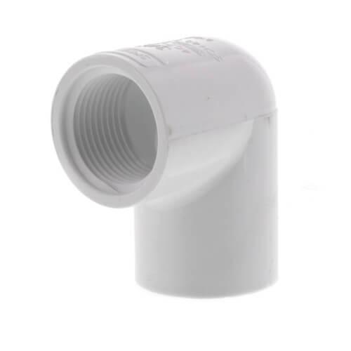 "3/4"" PVC Sch. 40 90° Elbow (Socket x FIPT) Product Image"