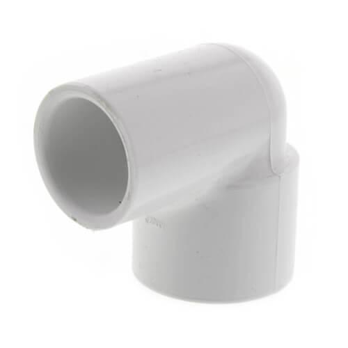 "1/2"" x 3/4"" PVC Sch. 40 90° Elbow (Socket x FIPT) Product Image"