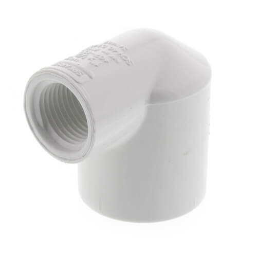 "1"" x 1/2"" PVC Sch. 40 90° Elbow (Socket x FIPT) Product Image"