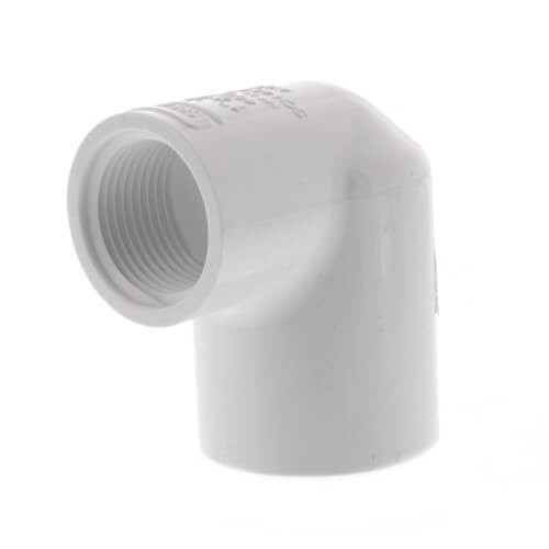 "1"" x 3/4"" PVC Sch. 40 90° Elbow (Socket x FIPT) Product Image"