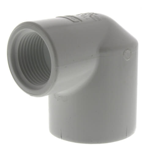 "1-1/2"" x 1"" PVC Sch. 40 90° Elbow (Socket x FIPT) Product Image"