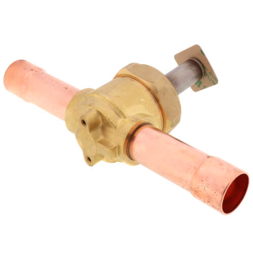"""7/8"""" ODF E19S270-HP Normally Closed Solenoid Valve Less Coil Product Image"""