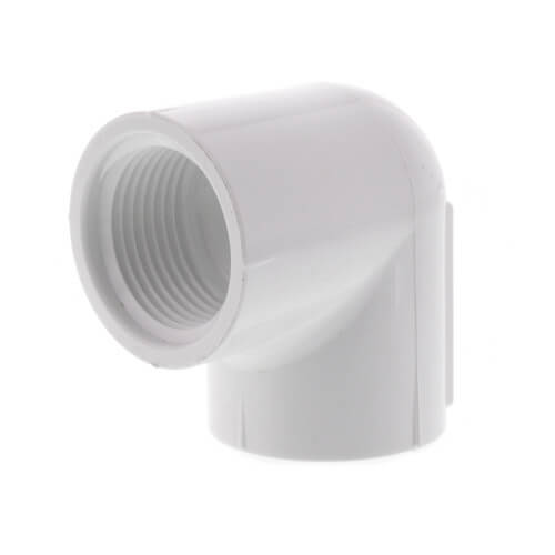 "3/4"" PVC Sch. 40 90° Threaded Elbow (FIPT) Product Image"