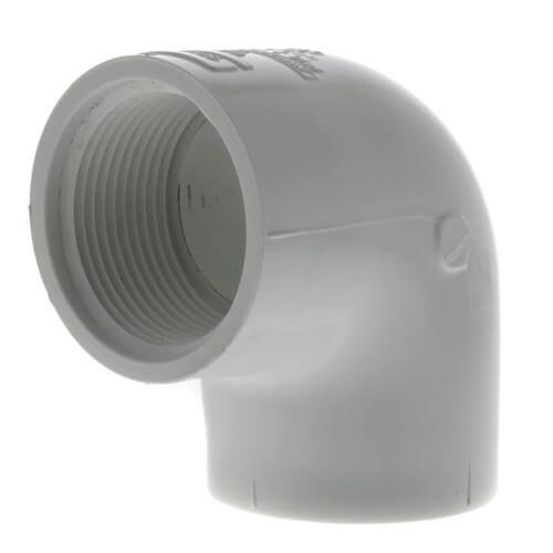 "1-1/4"" PVC Sch. 40 90° Threaded Elbow (FIPT) Product Image"