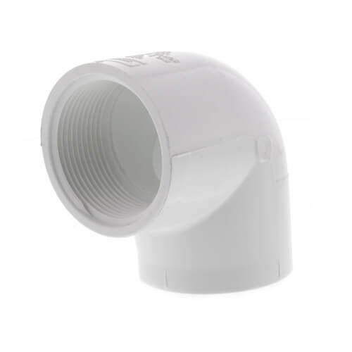"1-1/2"" PVC Sch. 40 90° Threaded Elbow (FIPT) Product Image"