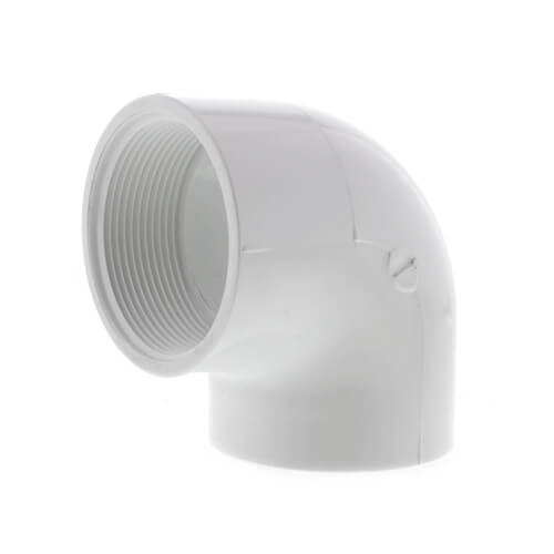 "2"" PVC Sch. 40 90° Threaded Elbow (FIPT) Product Image"
