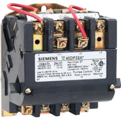 3 Pole, 208V, 3 Phase Non-Reversing Contactor (27A) Product Image
