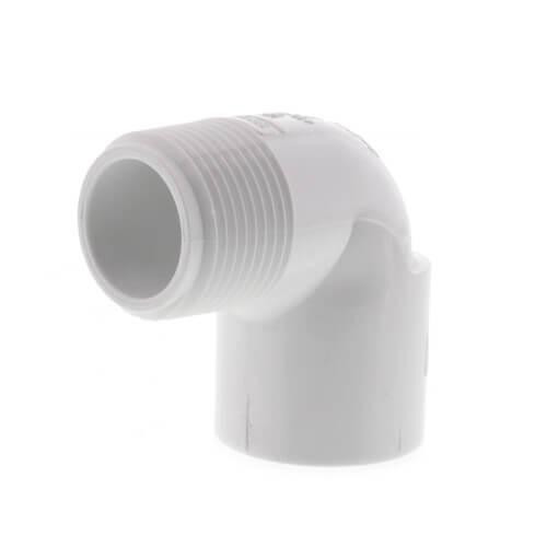 "1"" PVC Sch. 40 90° Street Elbow (MIPTxSOC) Product Image"