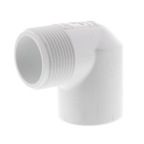 "1-1/4"" PVC Sch. 40 90° Street Elbow (MIPTxSOC) Product Image"