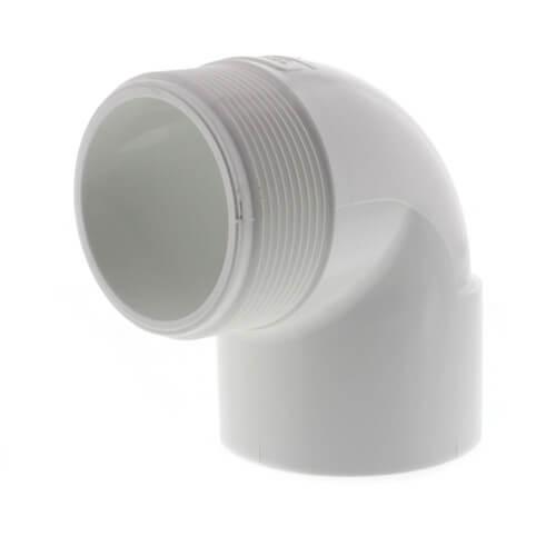 "2"" PVC Sch. 40 90° Street Elbow (MIPTxSOC) Product Image"