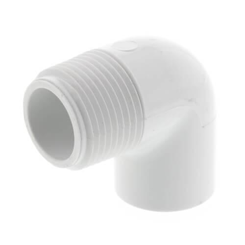 "3/4"" x 1/2"" PVC Sch. 40 90° Street Elbow (MIPTxSOC) Product Image"