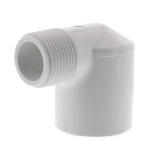 "3/4"" x 1"" PVC Sch. 40 90° Street Elbow (MIPTxSOC) Product Image"