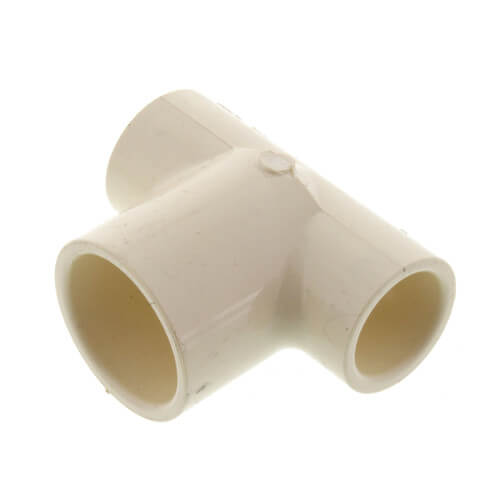 "2"" x 1-1/2"" x 1-1/4"" CPVC CTS Reducing Tee (Socket) Product Image"
