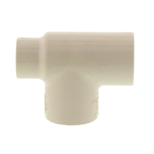 "3/4"" x 1/2"" x 3/4"" CPVC CTS  Reducing Tee (Socket) Product Image"