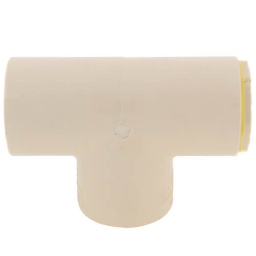 """1"""" x 3/4"""" x 1"""" CPVC CTS Reducing Tee (Socket) Product Image"""