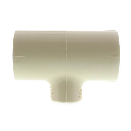 """1"""" x 1"""" x 1/2"""" CPVC CTS Reducing Tee (Socket) Product Image"""