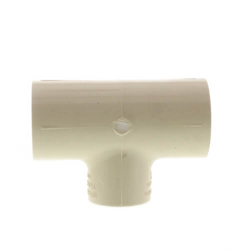 """1"""" x 1"""" x 3/4"""" CPVC CTS Reducing Tee (Socket) Product Image"""