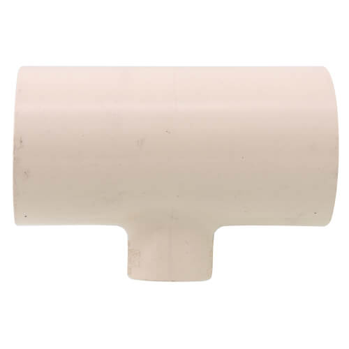 """1-1/4"""" x 1-1/4"""" x 1/2"""" CPVC CTS Reducing Tee (Socket) Product Image"""