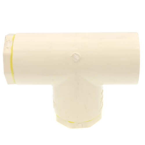 "1-1/2"" x 3/4"" x 3/4"" CPVC CTS Reducing Tee (Socket) Product Image"
