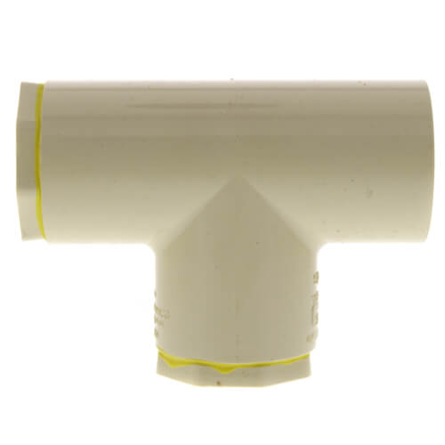 """1-1/2"""" x 1"""" x 1"""" CPVC CTS Reducing Tee (Socket) Product Image"""