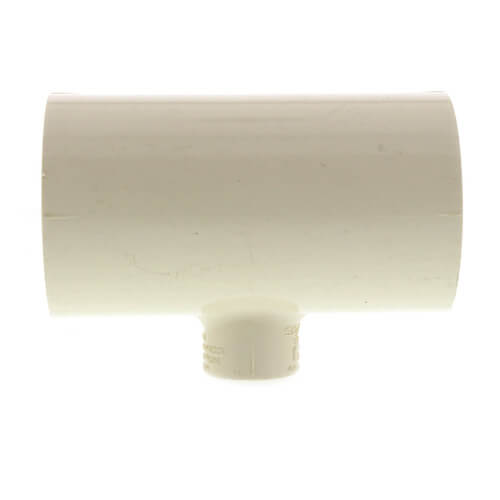 """1-1/2"""" x 1-1/2"""" x 1/2"""" CPVC CTS Reducing Tee (Socket) Product Image"""