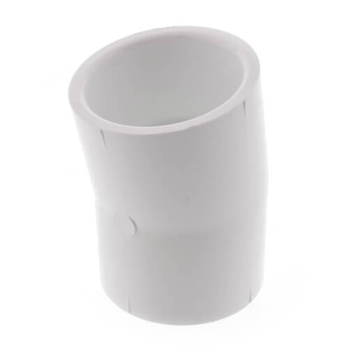 """1-1/2"""" PVC Sch. 40 11.25° Elbow Product Image"""