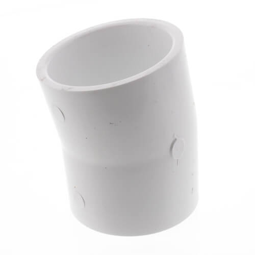 """2"""" PVC Sch. 40 11.25° Elbow Product Image"""