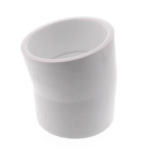 """3"""" PVC Sch. 40 11.25° Elbow Product Image"""