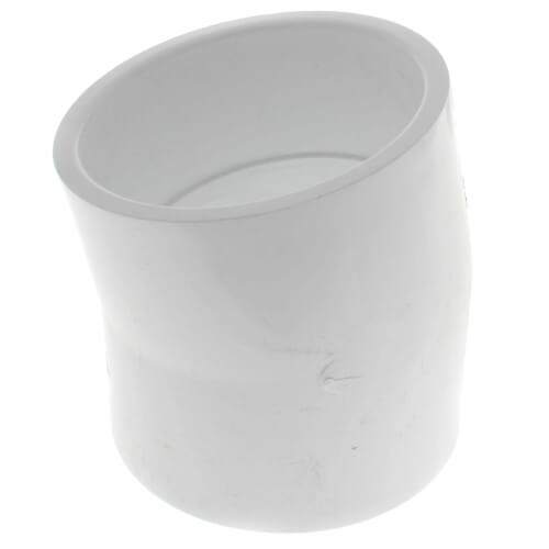 """4"""" PVC Sch. 40 11.25° Elbow Product Image"""