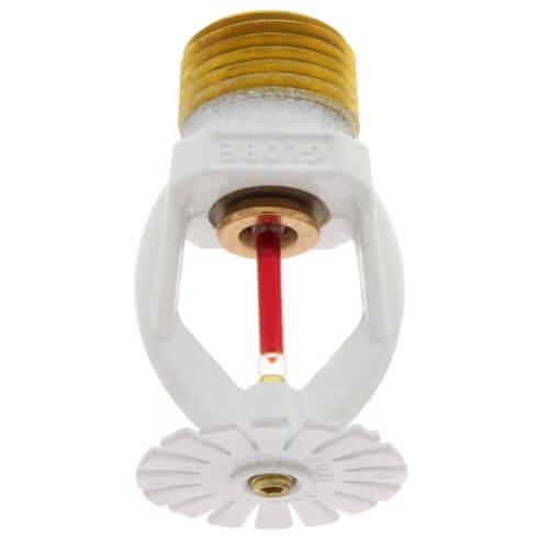 White Polyester Residential Pendent Sprinkler Head - 155°F (4.1 K-Factor) Product Image