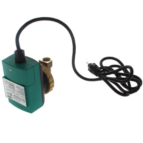 "Star-Z 15 BN5 Single Speed Bronze Circulator Pump (1/2"" FNPT) Product Image"
