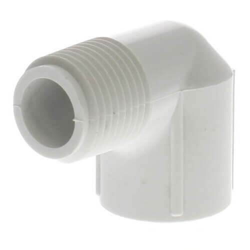 "1/2"" PVC Sch. 40 90° Street Elbow (Male x Fem) Product Image"