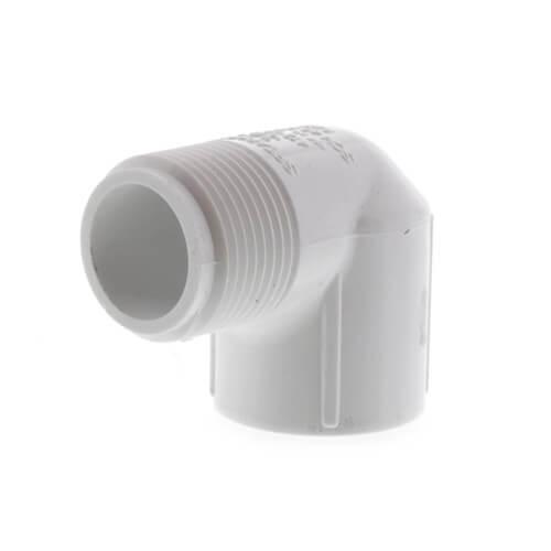 "3/4"" PVC Sch. 40 90° Street Elbow (Male x Fem) Product Image"
