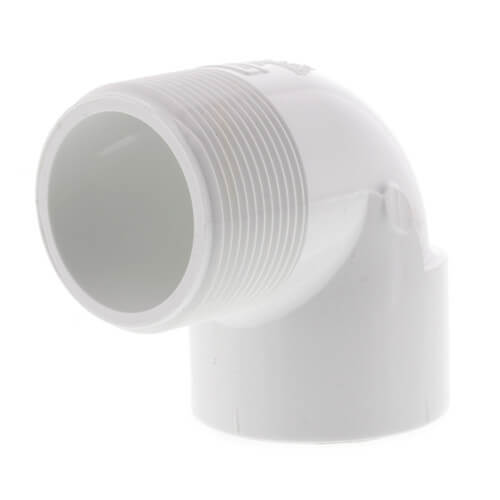 "1-1/2"" PVC Sch. 40 90° Street Elbow (Male x Fem) Product Image"