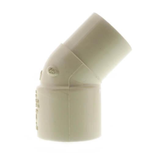 "1"" CPVC CTS 45° Street Elbow (Spigot x Socket) Product Image"