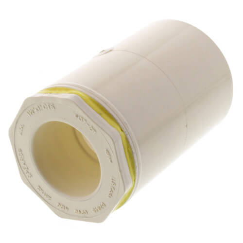 """1-1/2"""" x 1"""" CPVC CTS Reducer Coupling (Socket) Product Image"""