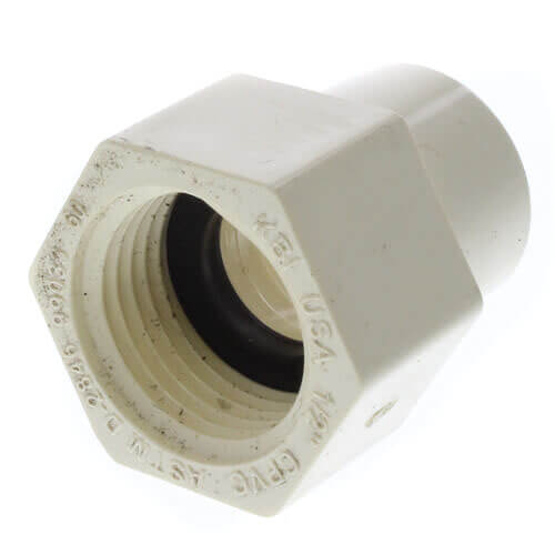 "1/2"" CTS CPVC Female Adapter w/ Gasket (Socket x NPSC) Product Image"