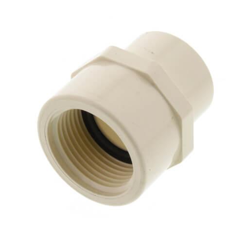 "1"" CTS CPVC Female Adapter w/ Gasket (Socket x NPSC) Product Image"