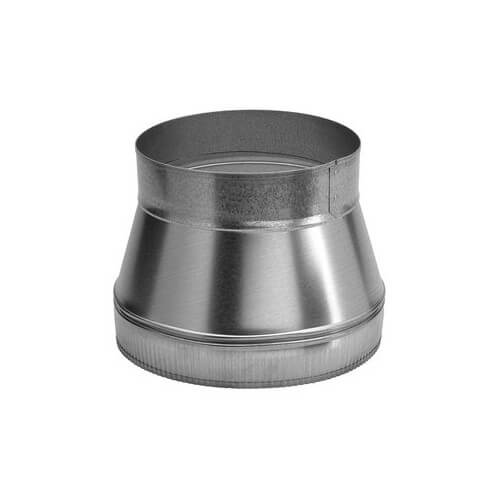 """8"""" to 10"""" Round Duct Transition Product Image"""