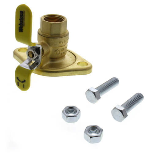 "3/4"" Threaded Isolator Flange w/ Rotating Flange - Lead Free Product Image"