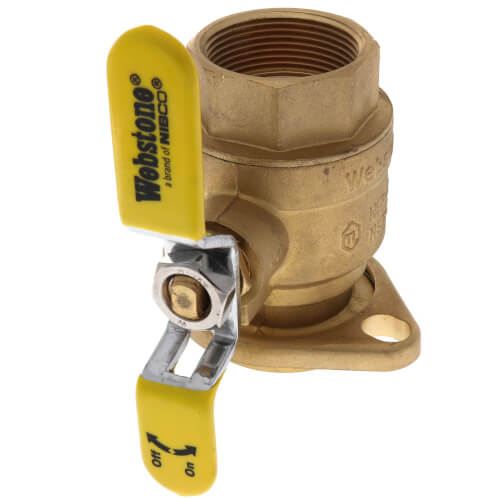 "1-1/2"" Threaded Isolator w/ Rotating Flange - High Velocity - Lead Free Product Image"