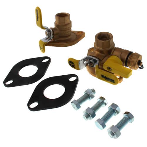 "3/4"" Threaded Isolator Circulator Pump Install Kit w/ Rotating Flange (Lead Free) Product Image"